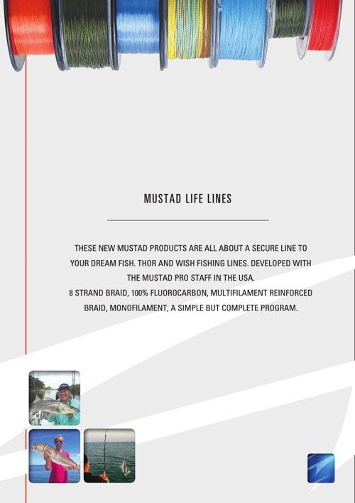 Mustad Life Lines - 2016