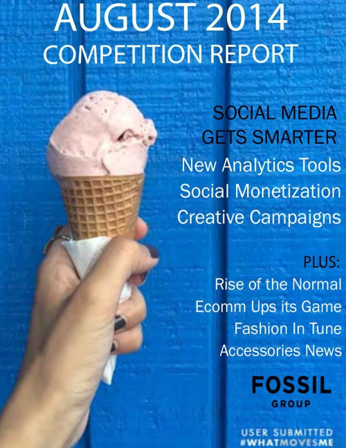 August 2014 Competition Report