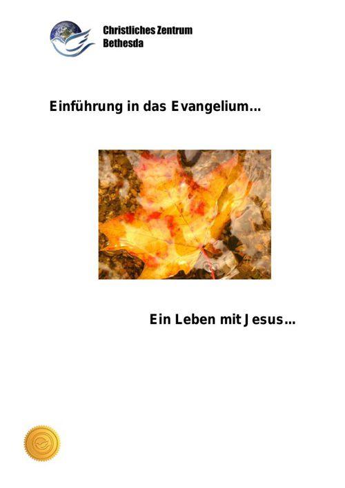 Ein Leben mit Jesus