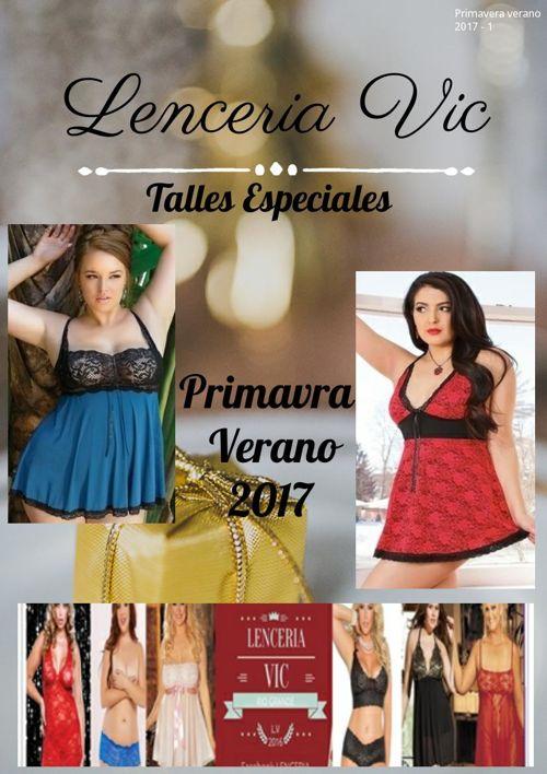 LENCERIA VIC TALLES ESPECIALES