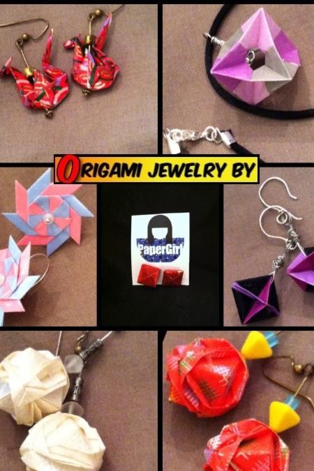 PaperGirl Origami Jewelry