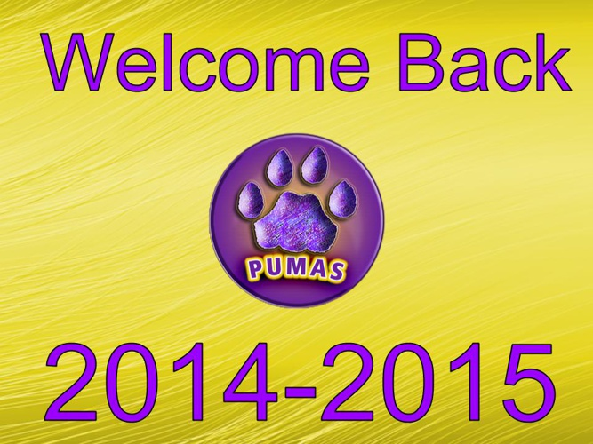 Welcome Back Families