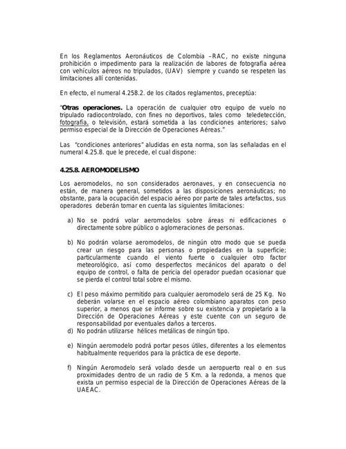 AEREOS NO TRIPULADOS-UAVS-OPERACION