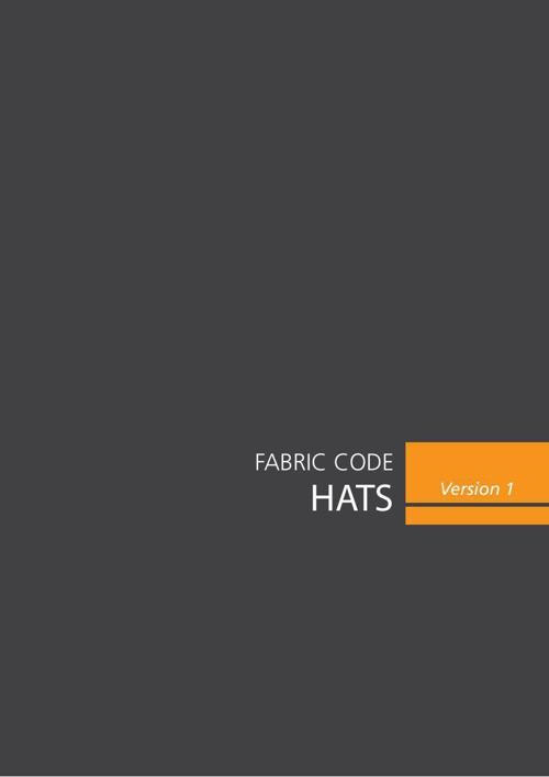 Hats - Fabric Code