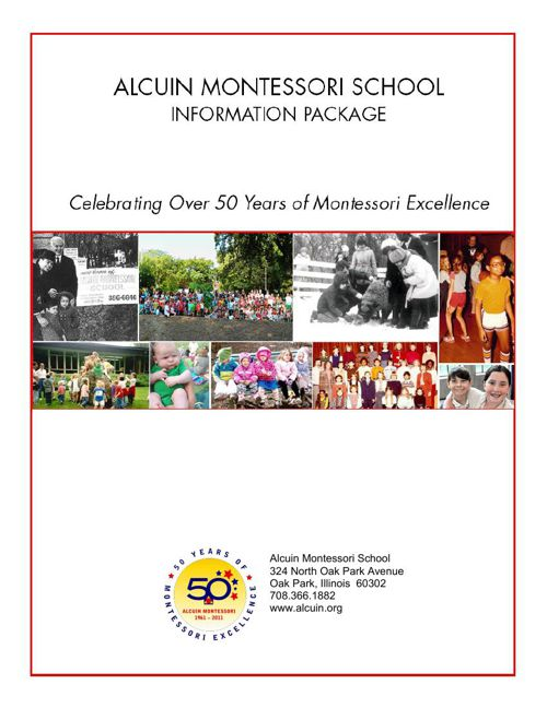 Alcuin Montessori Information Packet