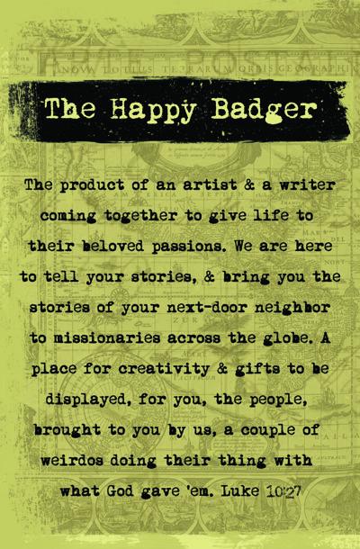 THE HAPPY BADGER ZINE_NEW 2