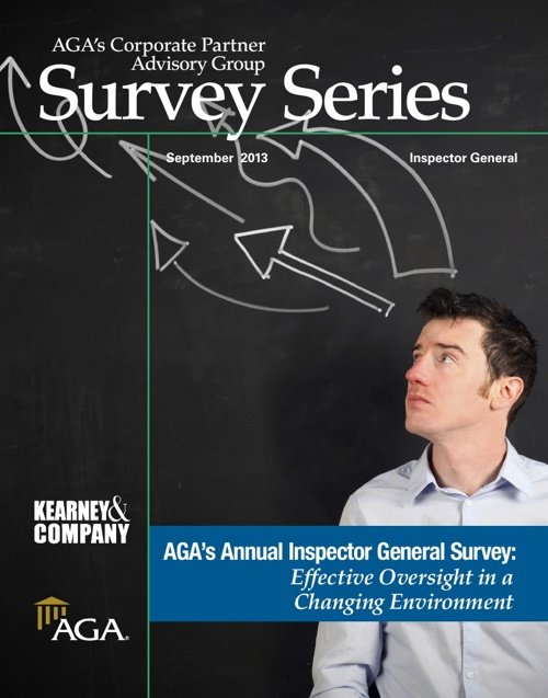 AGA's CPAG Survey Series: Inspector General (IG)