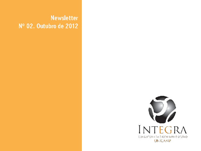 Newsletter Externo - Ref. Outubro 2012