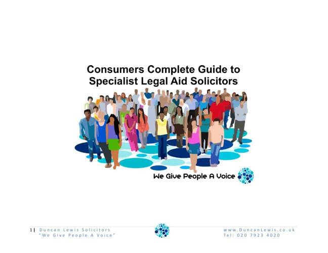 Specialist Legal Aid Solicitors