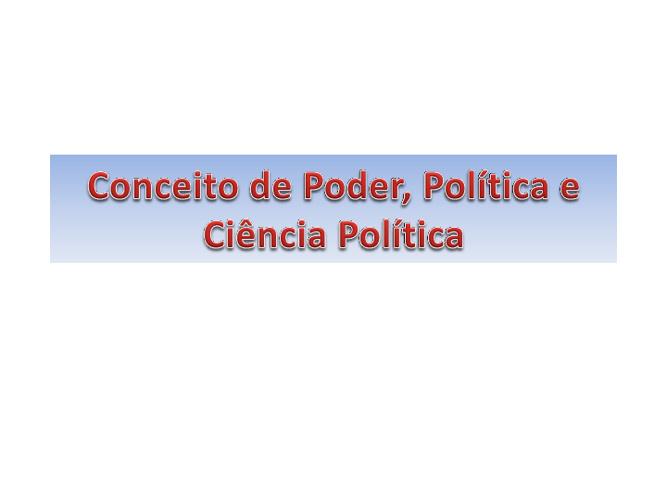 Campo da Ciência Política