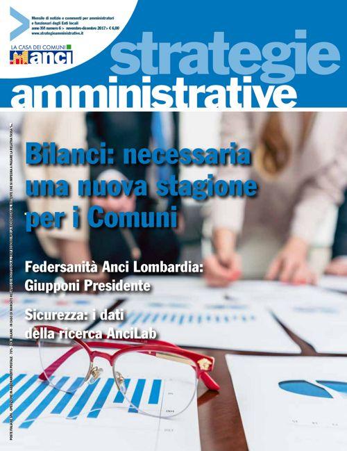 Strategie Amministrative - Novembre Dicembre 2017