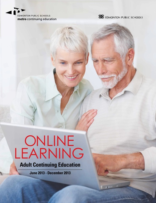 Adult Continuing Education Online Learning Fall 2013
