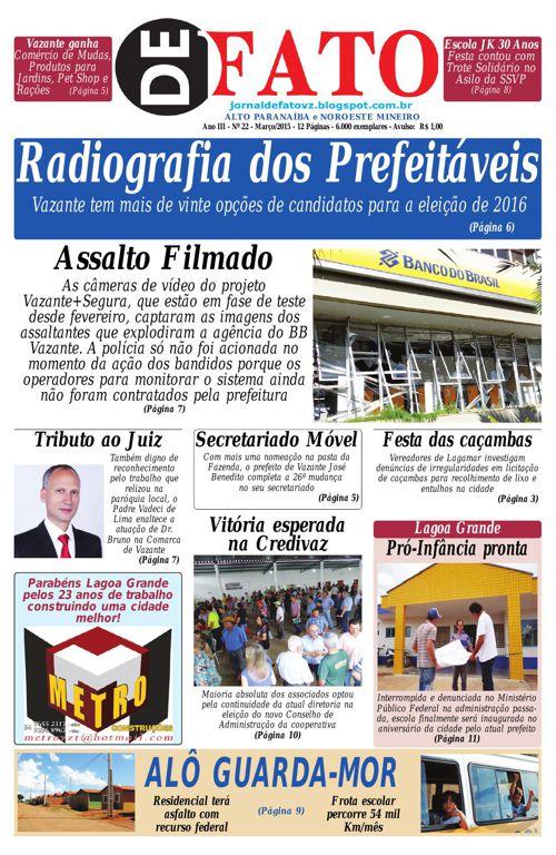 Jornal De Fato 22ª Edição