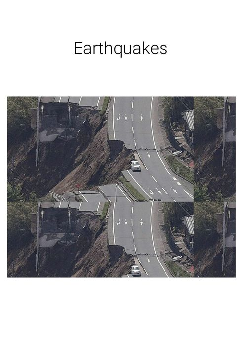 the Disaster of earthquakes