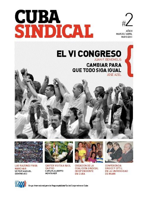 Cuba Sindical #2 Año 2 / Marzo-Mayo 2011