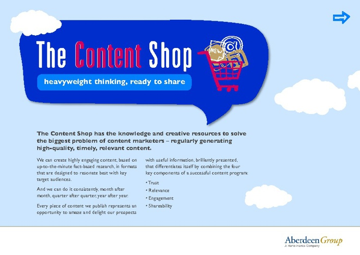 Copy of The Content Shop