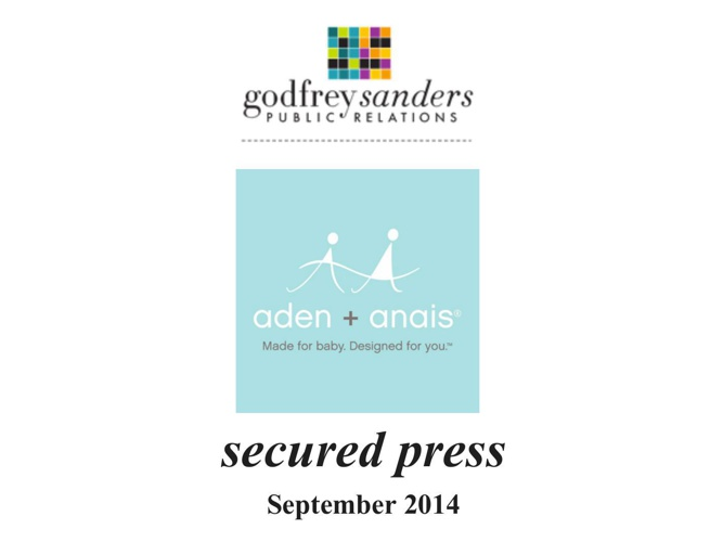 aden + anais September 2014 Secured Press