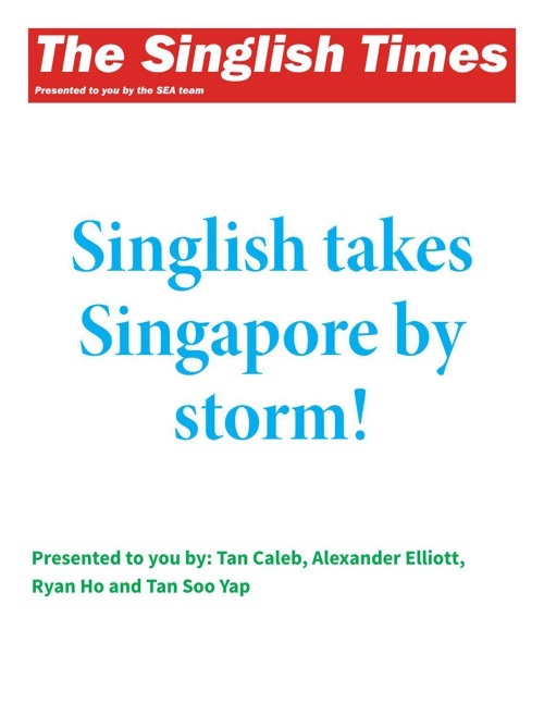 The Singlish Times