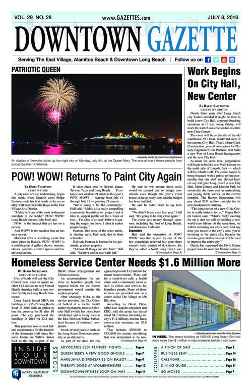 Downtown Gazette     July 8, 2016