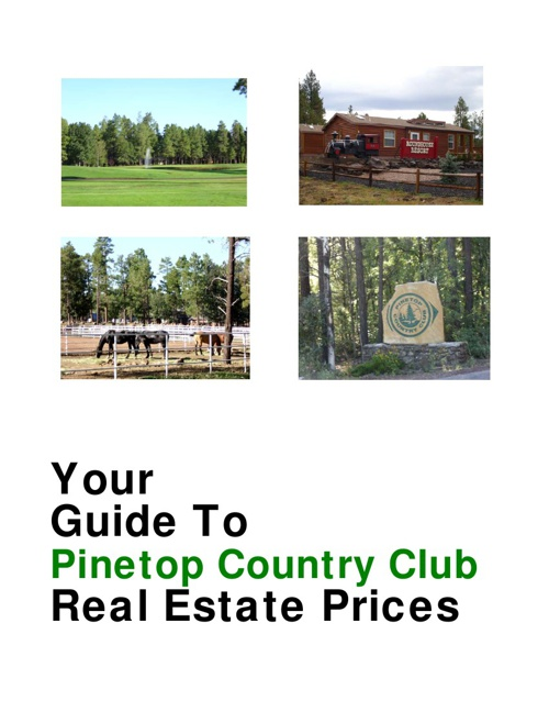 Pinetop Country Club Buyer's Guide