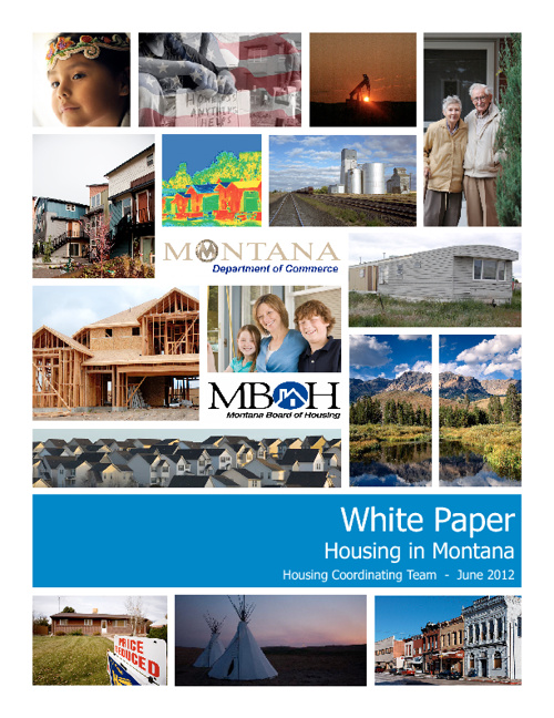 2012 White Paper - Housing in Montana