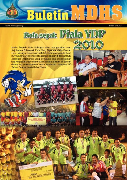 Buletin MDHS Edisi 2 2010