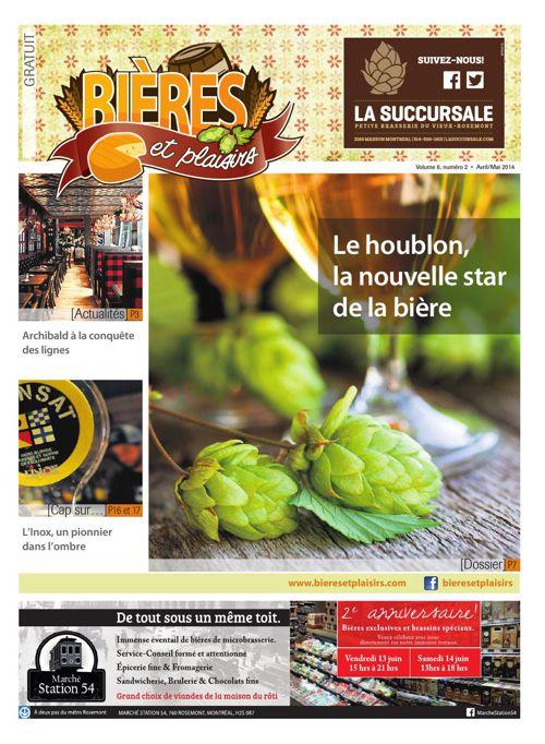 Bières et Plaisirs Volume 6 Numéro 2 - Avril 2014