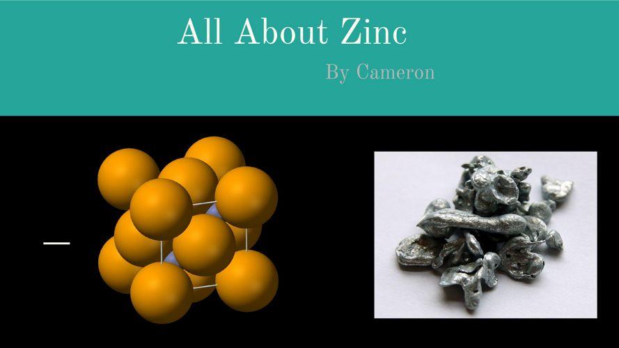 Zinc by Cameron