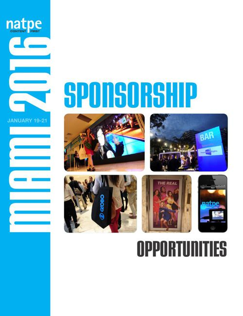 NATPE 2016 Sponsorship Opportunities