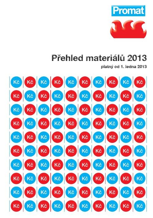 Promat materiály 2013 CZ