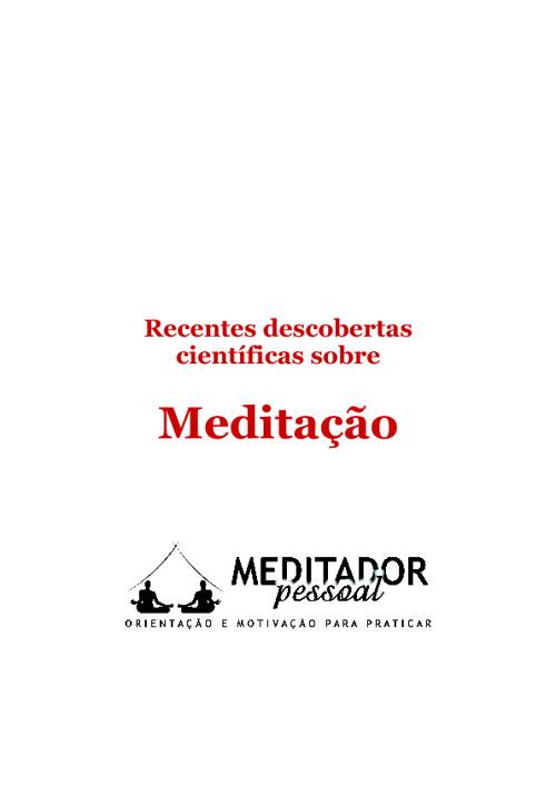 Descobertas Científicas sobre Meditação