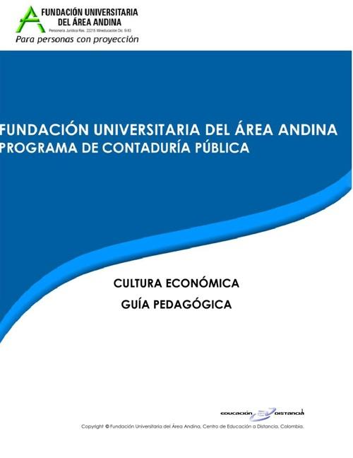 GUIA CULTURA ECONOMICA