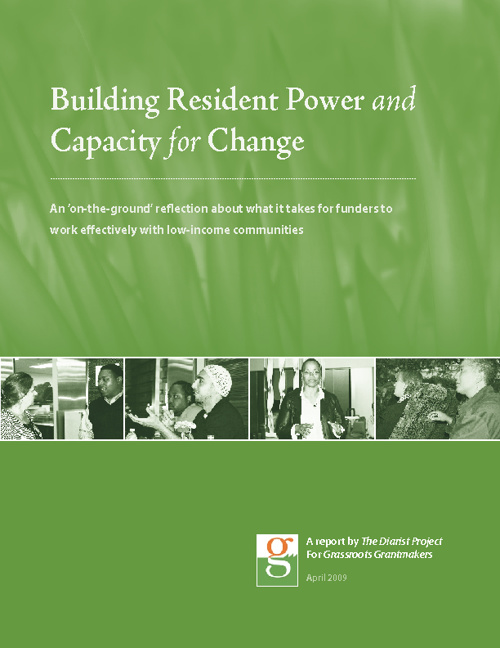Building Resident Power & Capacity for Change