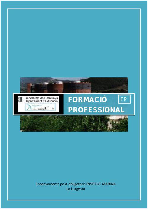 FORMACIÓ PROFESSIONAL INS MARINA
