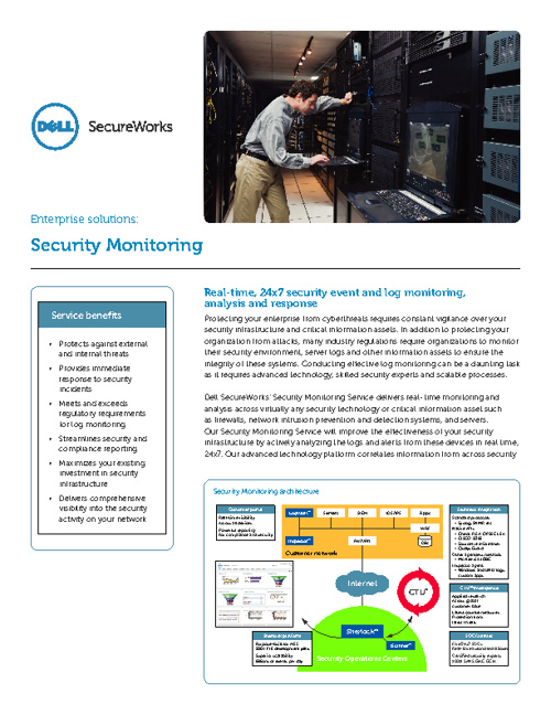 Dell SecureWorks Enterprise Security Services