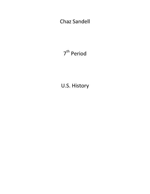 Chaz's First Flipbook