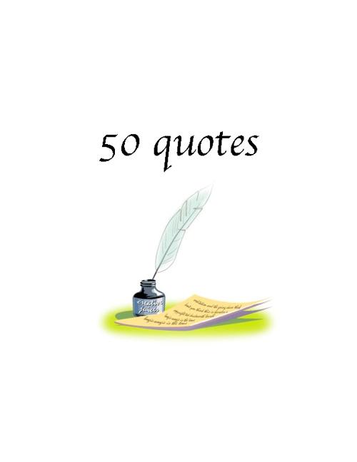 50 quotes