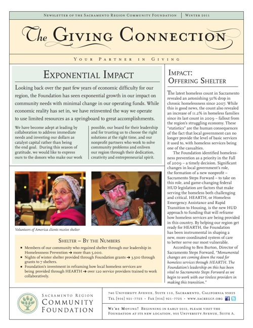 2011 Winter Newsletter