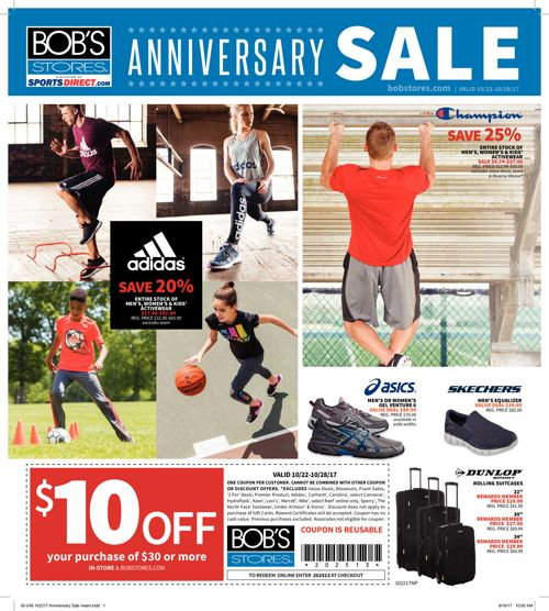 Anniversary Sale Flyer