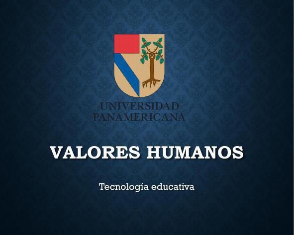 Valores Humanos2