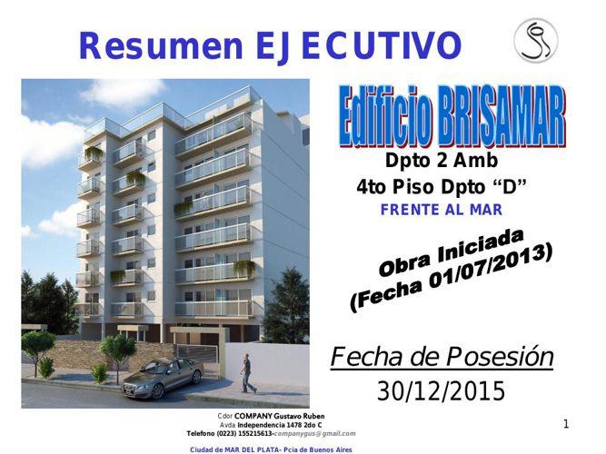 Edificio BRISAMAR I -  Susana y Omar - 5to D