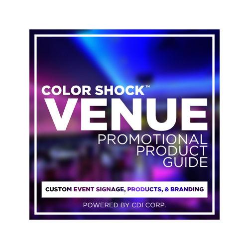 COLOR SHOCK VENUE - BACK TO VINYL TOUR