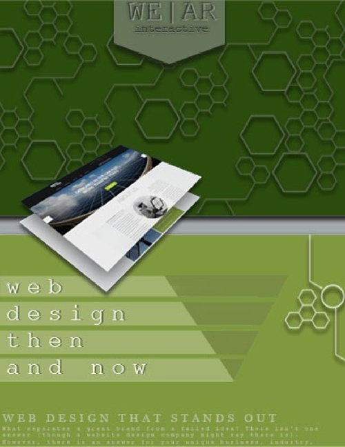 Web Design Then And Now