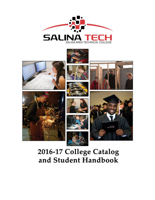 2016-17 Salina Tech College Catalog
