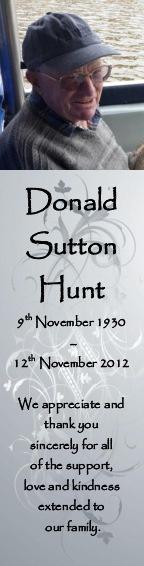 Donald Hunt sample 2