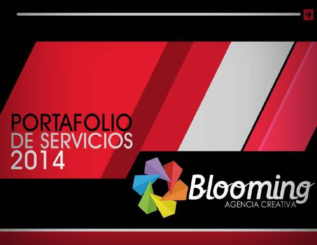 Portafolio de Servicios-Blooming Agencia Creativa