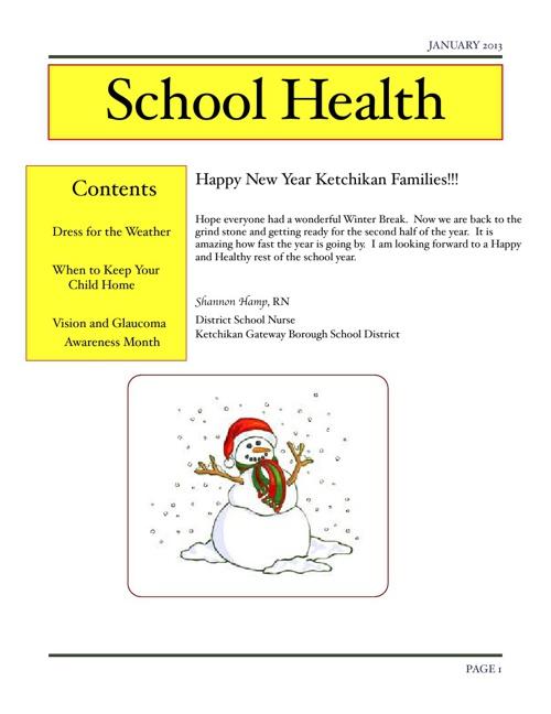 January Health News
