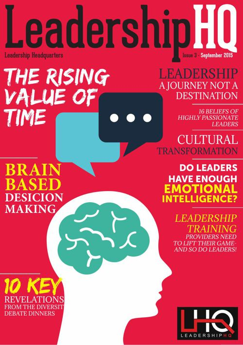 LeadershipHQ's Magazine 3rd Edition September 2015