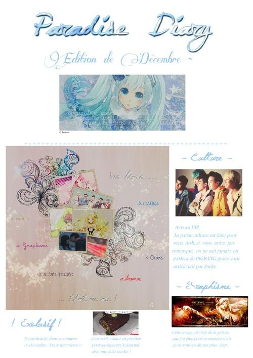 Paradise diary - décembre 2012