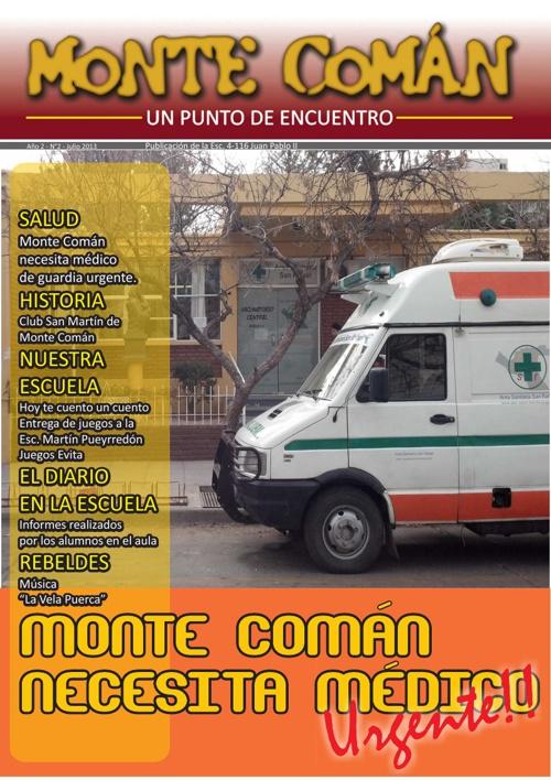 Monte Coman - Julio